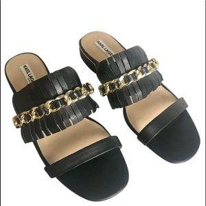 KARL LAGERFELD Leather sandals